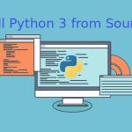 ติดตั้ง python 3 จาก source code