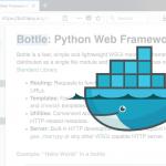 Bottle: Python web Framework ตอนที่ 1