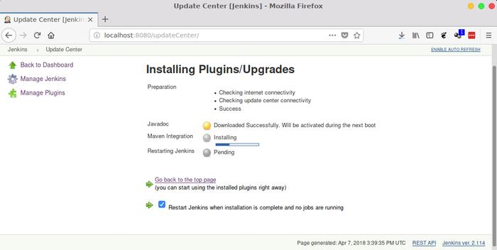 jenkins download plugins
